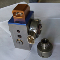 fixed center extrusion head for wire extrusion line