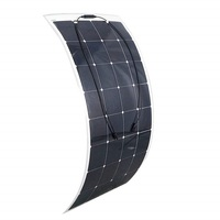 160W 12V Monocrystalline Flexible Lightweight Ultra Thin Solar Panel Charger