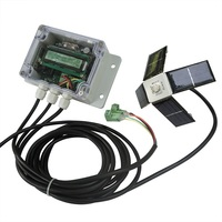 Dual Axis Solar Panel Tracker Controller Box With Remote Control