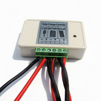 3A PWM Solar Panel Charge Controller 12V/24V Battery Regulator