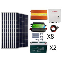 800 Watts Complete Off-Grid Polycrystalline Solar Power System