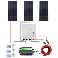 450W Polycrystalline Off Grid Solar Panel Kit with Combiner Box