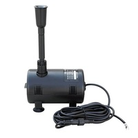 12-24V DC Submersible Water Pump for Solar Fountain, Fish Pond