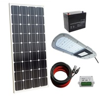 40W 12V Completed LED Solar Street Lighting System for Outdoor, Yard, Garden