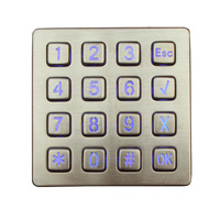 as station pos system with keypad stand alone access control keypad