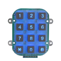 High anti-destructive CE approved Machine tools keypad for Vending Machine or CNC machine tools