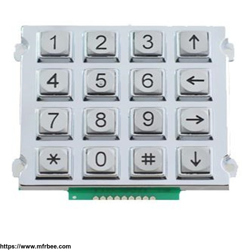 16_keys_anti_explosion_keypad_municipal_engineering_telephone_keypad_b512