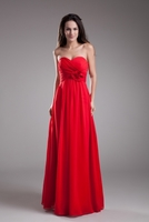 Apple Red Bridesmaid Dresses