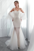 more images of Fit and Flare Wedding Dresses
