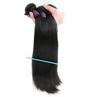 9A Brazilian Straight 3 Bundles Human Virgin Hair Weave