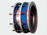 SSQP Both ends Flanges Pressure Plate Limiting Displacement Expansion Joint