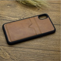 pu leather cell phone case for iphone x,tpu pc leather cell phone case for iphone x with card holder