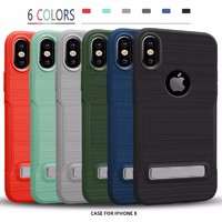 Factory price best buy phone cases for iphone x with phone stand
