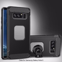 more images of TPU PC 2 in 1 car bracket phone cases for samsung galaxy note 8