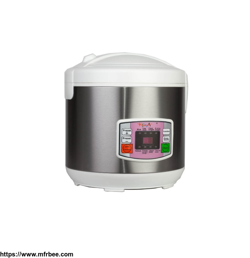 700W Stainless Steel Non-stick 5L Multifunction Smart Rice Cooker Supplier China