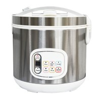 700W 4L Stainless Steel Non-stick Multifunction Smart Rice Cooker