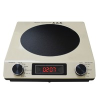 2000W Golden Portable Stainless Steel Touch Button Induction Cooktop