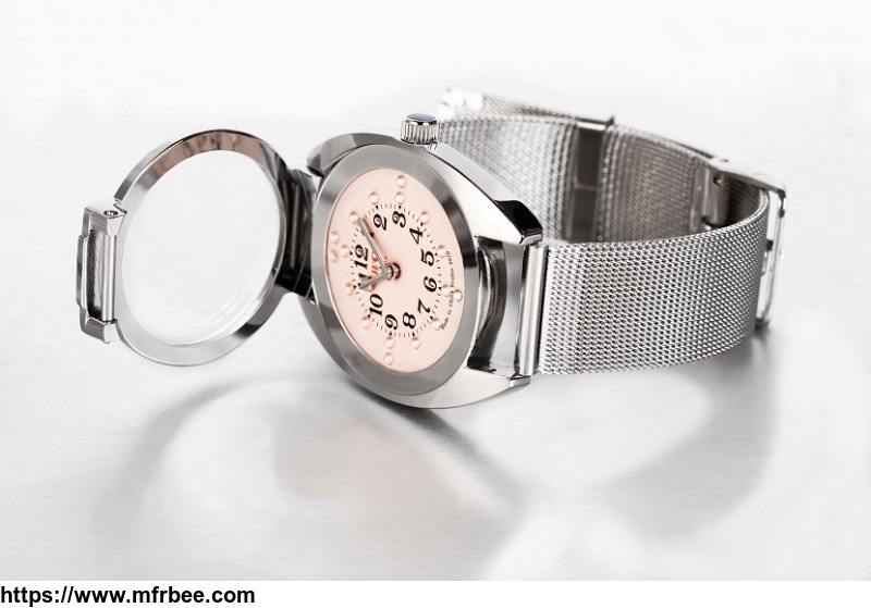Tactile Watch With Professional Dots for the Blind and Low Vision