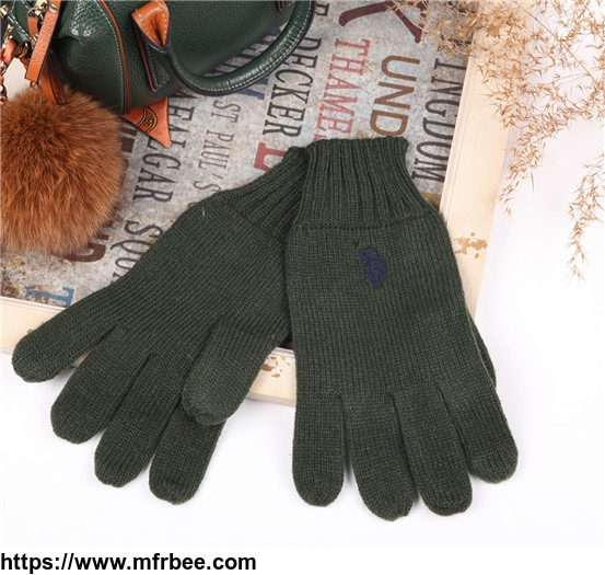 High quality knitted handmade and brocade electric multipurpose gloves