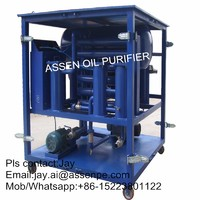 Full-automatic type HV Transformer Oil Filtration machine,Oil Purifier machine