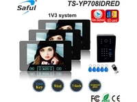 "Saful TS-YP708IDREC 7"" Video Door Phone With RFID"
