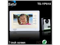 Saful TS-YP818 7-inch TFT LCD wired video door pho
