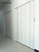 PVC folding door and kits