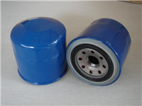 oil filter a filter that removes impurities from the oil for lubricate an internal-combustion engine