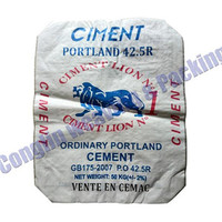 100% New PP Material woven Cement Bag 50kg