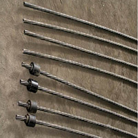 Slope cable bolt