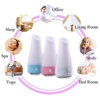 Wholesale 120ML Essential Oil Diffuser Fresh Air Ultrasonic Mist Adjustable mode portable for Yoga,Gym,Baby Room Aroma diffuser