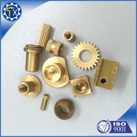 Custom various seizes metal CNC lathing part with nickel coating