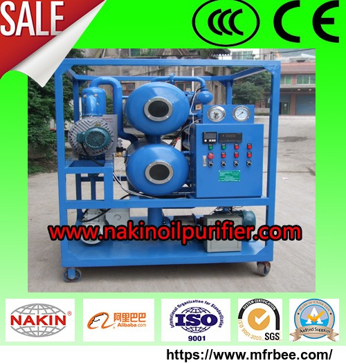 zyd_double_stage_vacuum_transformer_oil_purifier