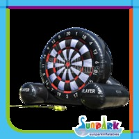 Giant Inflatable Football Darts Board with Sticky Balls
