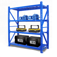 warehouse storage shelf layout boltfree plastic shelving system