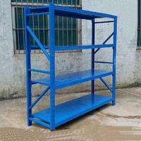 medium duty plans used parts metal storage shelving image for warehouse