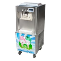 hot sale soft ice cream making machine with factory price