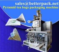 BT-13 Pyramid tea bag machine