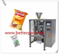 Vertical forming filling and sealing machinery snack food packing equipment