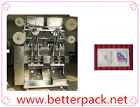 Automatic 4 lane twin chamber salt pepper sachet packing machine
