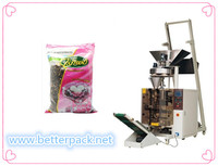 Automatic beans nuts bag forming filling sealing packing machine