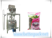 Automatic granule weighing forming filling sealing machine with