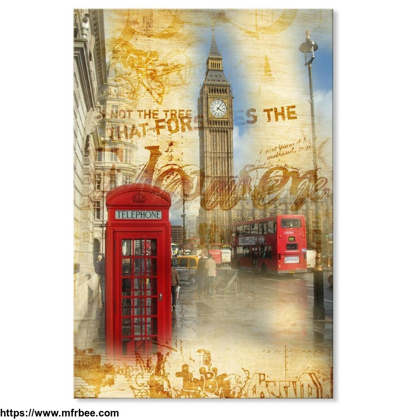 canvas_print_vintage_london_big_ben_and_red_telephone_booth_24x36_inch_60x90cm_