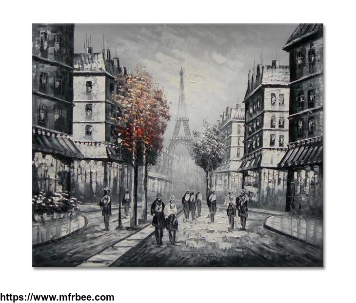 100_percentage_handmade_paris_art_i_32x40_inch_80x100cm_