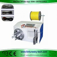 Automatic Wire Cable Coiling Cum Tying Machine