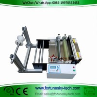 Electric eye cutting machine for smart phone membrane label barcode