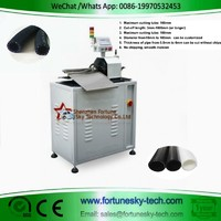 Fully Automatic HDPE Pipe Rotary Cutting Machine