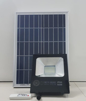 50W Outdoor Floodlight Solar Light