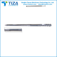 Screw & Barrel for Recycle Pelletizing Machines