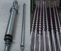 SIngle twin screws barrel for IMM Extrusion Machine